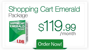Shopping Cart Emerald Package
