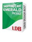 Shopping Cart Emerald Package