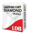 Shopping Cart Diamond Package