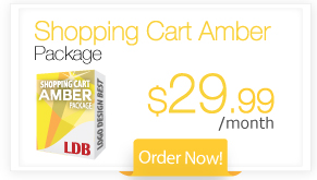 Shopping Cart Amber Package