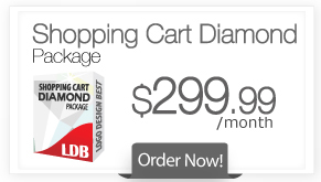 Shopping Cart Diamond Package