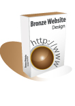 Bronze Webiste Design